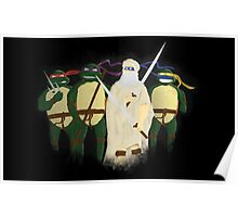 Da Vinci Turtles Poster