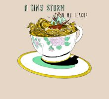 A Tiny Storm in my Teacup Womens Fitted T-Shirt