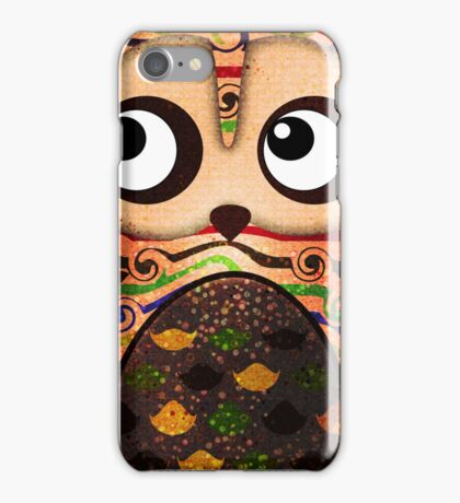 Owl On A Branch Symbolism iPhone Case/Skin