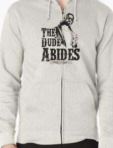 The Dude Abides Zipped Hoodie