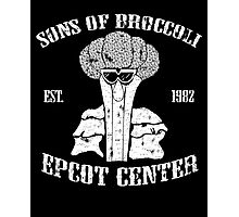 Sons Of Cool Broccoli Photographic Print