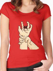 Frodo Baggins - Bitten off finger Women's Fitted Scoop T-Shirt
