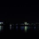 Night View of Canberra Australia  by Kym Bradley