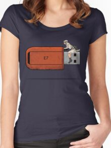 USB Rider Women's Fitted Scoop T-Shirt