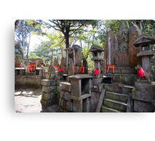 kitsune temple altars Canvas Print