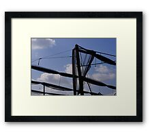 Countryside Architecture Framed Print