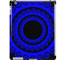 Wave Circles iPad Case/Skin