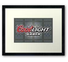 Cool Lightsaber Framed Print