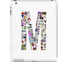 BS ABC's: M iPad Case/Skin