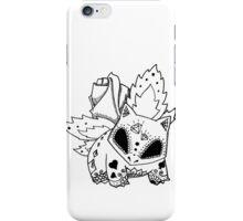 Ivysaur de los Muertos | Pokemon & Day of The Dead Mashup iPhone Case/Skin