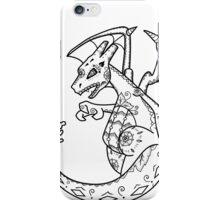 Charizard de los Muertos   Pokemon & Day of The Dead Mashup iPhone Case/Skin