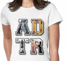 A D T R Womens Fitted T-Shirt