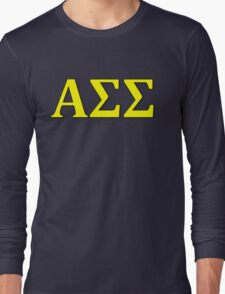 Alpha Sigma Sigma - Maize Long Sleeve T-Shirt