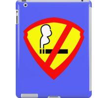 Super Anti Smoking Hero iPad Case/Skin