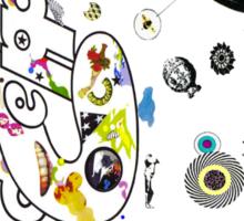 led zep III Sticker