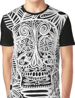 Skull Negative Graphic T-Shirt