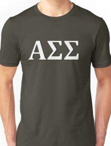 Alpha Sigma Sigma - White Unisex T-Shirt