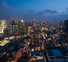 Osaka By Night by photoeverywhere