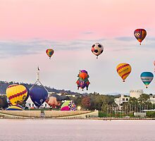 Canberra Balloon Spectacular by Anthony Caffery