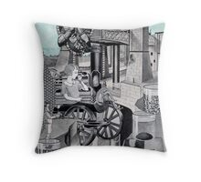 Shadow of the Sun. Throw Pillow