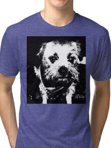 Cowboy dog Tri-blend T-Shirt