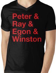 &busters Mens V-Neck T-Shirt