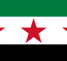 Flag of Syria Sticker