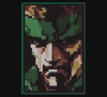 HD Metal Gear 2 Snake by timnock
