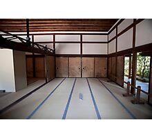 Ryoan-ji interior Photographic Print