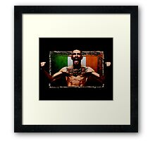 Conor McGregor IRISH UFC LEGEND Framed Print