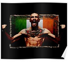 Conor McGregor IRISH UFC LEGEND Poster
