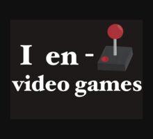 I Enjoy Video Games One Piece - Short Sleeve