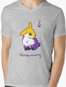 Original Nonbunnary Mens V-Neck T-Shirt