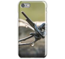 Wire Drops iPhone Case/Skin