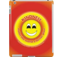 Kindness Makes The World a Better Place - Yellow Cases iPad Case/Skin
