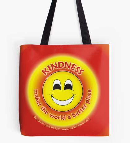 Kindness Makes The World a Better Place - Yellow Cases Tote Bag
