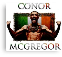 Conor - McGregor Irish Legend of the UFC Canvas Print
