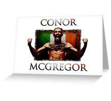 Conor - McGregor Irish Legend of the UFC Greeting Card
