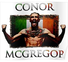 Conor - McGregor Irish Legend of the UFC Poster