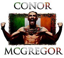 Conor - McGregor Irish Legend of the UFC Photographic Print