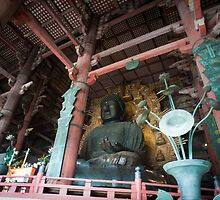 Daibutsu of Todai-ji by photoeverywhere