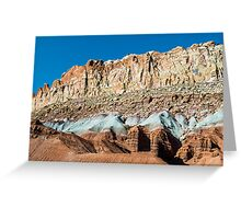 Cliffs of Color Greeting Card