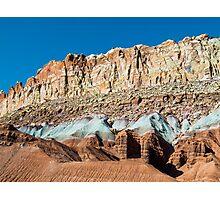 Cliffs of Color Photographic Print