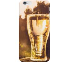 Cold Drink, Hot Day iPhone Case/Skin