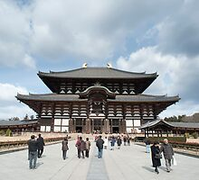 Todai-ji Daibutsuden by photoeverywhere