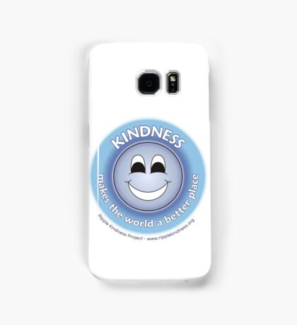Kindness Makes The World a Better Place - Blue T-shirt Samsung Galaxy Case/Skin