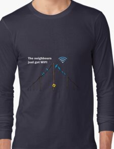 Wireless Birds Long Sleeve T-Shirt