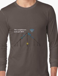 Wireless Birds Long Sleeve T-Shirt