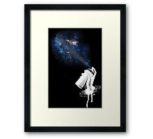 Space Can Framed Print