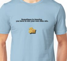 Mixing Your Own Chex Mix Unisex T-Shirt